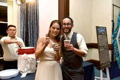 Midnight snack ice cream bar found on Modern Jewish Wedding Blog // Photographer: Donna Von Bruening Wedding Reception Appetizers, Mini Burgers, Midnight Snacks, Icecream Bar, Wedding Blog, Catering, Ice Cream, Couple Photos, Modern