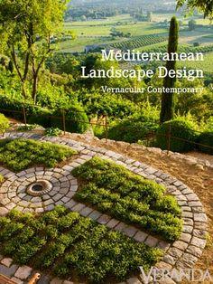 Mediterranean Landscape Design provides a lush getaway
