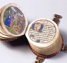 This is the case of so-called Codex rotundus (round or codex, for its circular shape), a book of hours comprising 266 pages and written in Latin and French. Late 15th C.