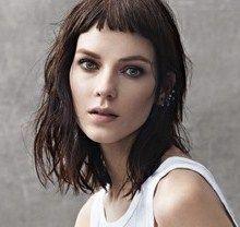 short bangs and medium hair - Google Search