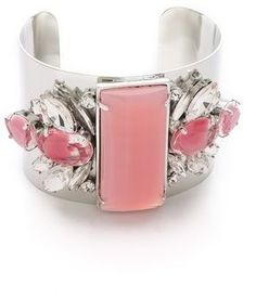 Noir jewelry Barbados Square Cuff on shopstyle.com