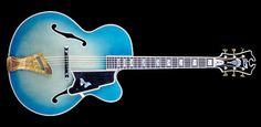 Lacey Blue Virtuoso (from the late Scott Chinery Blue Guitars Collection - Smithsonian Institute)
