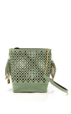 Shop Green Cera Bag by Sophie Anderson