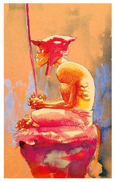 Monkey Journey To The West concept art by Jamie Hewlett