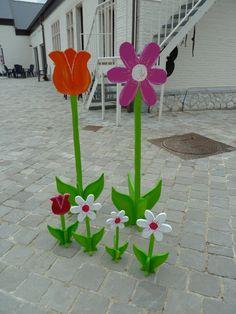 grote en kleine bloemen