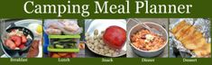 Healthy Camping- Meal Plan, Recipes, and Shopping List! | @Super Healthy Kids  Healthy Ideas for Kids [Love this plan! Perfect opportunity to swap in some #FairTrade fruits & veggies and teach your kids about where their food is grown!]