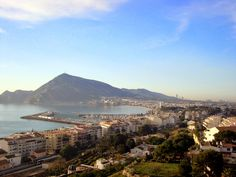 View from Altea in the Valencian Community, Spain