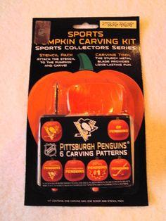 Pittsburgh Penguins NHL Pumpkin Carving Kit