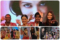 Aishwarya Rai Bachchan recently attended NDTV 'Support My School' campaign where she shaked her legs for her item number 'Kajra re' from Bunty Aur Babli. Aishwarya Rai Bachchan, School S, Dancing, Campaign, Entertainment, Movie Posters, Movies, Dance, Film Poster