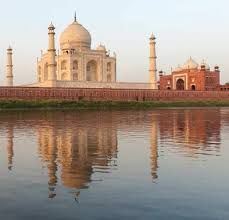 Taj Mahal is historical Monument in Agra City & one of the World's Heritage site .