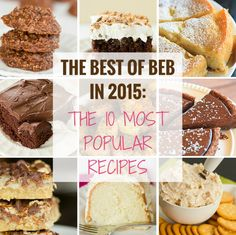 The Best of BEB in 2015: The 10 Most Popular Recipes   browneyedbaker.com