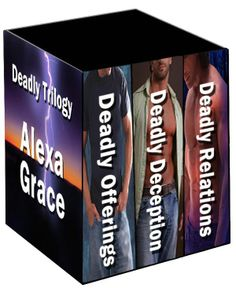Deadly Trilogy by Alexa Grace. I was very pleasantly surprised by this trilogy. Books To Read, My Books, Page Turner, Mystery Thriller, Book Nooks, Great Books, The Book, Kindle, Reading