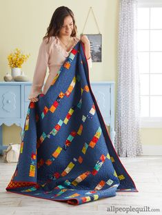 See the featured quilts and web-exclusive color options and projects from the American Patchwork & Quilting August 2017 issue. Jellyroll Quilts, Scrappy Quilts, Easy Quilts, Children's Quilts, Quilting Tutorials, Quilting Designs, Quilting Projects, Quilting Ideas, Sewing Projects