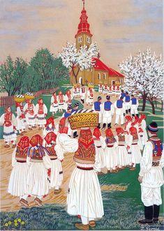 Zdenka Sertić 1899-1986: Uskrs u Šestinama - Easter in Šestine