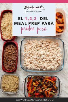 Masterclass gratuita para aprender los 3 pasos para hacer que el meal prep te ayude a perder peso. ¡Nos vemos!