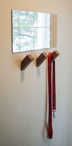 WallNuts Creative mur crochets pour le moderniste par SLwoodworks