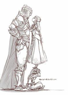 Ganondorf vs Princess Zelda
