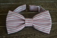 Little Boy Bow Tie Red and White Bow Tie by BrileyBean on Etsy, $10.00