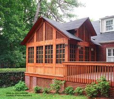 This is the best screen porch I have ever seen. It doesn't look like a after thought.   LOVE