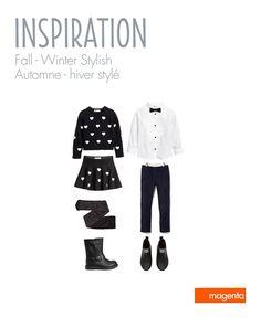 KIDS PHOTO SESSION - Fall & Winter season outfits // SÉANCE D'ENFANTS - Saison automne & hiver