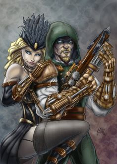 Marvel vs DC steampunk fight. - Battles - Comic Vine