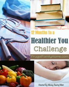 It's a new month and time to start a new area to focus on for the 12 months to a Healthier You Challenge. This month's focus is on eating more fruits and vegetables. Come on over and see my progress so far.