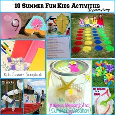 Gummy Lump Toys Blog: Summer Fun for Kids Round Up