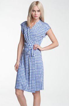 Diane von Furstenberg 'Mindy' Print Silk Wrap Dress available at Nordstrom  Love this.