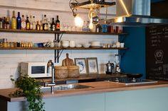 リフォーム・リノベーション会社:株式会社 空間社「料理番組のようなキッチンに!-azur mu-」