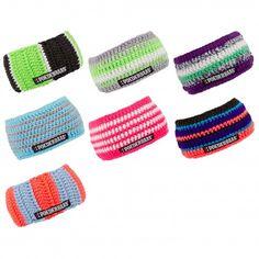 De Headband HB hoofdband van @poederbaas houdt het hoofd en de oren aangenaam warm en is verkrijgbaar in verschillende vrolijke kleuren.
