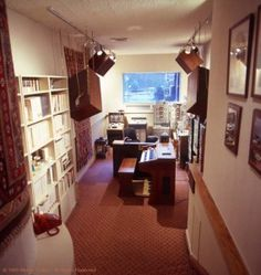 "A nostalgic shot of the recording studio of Wendy Carlos, somewhere in the 1970s, possibly as she worked on the soundtrack of Stanley Kubrick's ""The Shining"". Exactly the sort of picture that puts bizz jockey Carl Pappas in a nostalgic mood – if he's not too busy talking to the worldwide business community, arguing with his boss Phil Solo or running around trying to solve a crime."