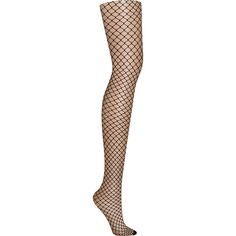 f17a34114cc0b DKNY Large Fishnet Tights (€19) ❤ liked on Polyvore featuring intimates,  hosiery, tights, pantyhose, sheer, women, pantyhose stockings, dkny, sheer  tights ...