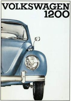 Vw Volkswagen Käfer Werbung 1956