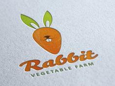 Rabbit Vegetable Farm logo : via dribble