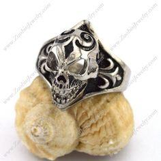 r002883 Item No. : r002883 Market Price : US$ 30.60 Sales Price : US$ 3.06 Category : Skull Rings