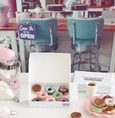 1:6 Scale Play Scale Miniature Doughnuts by SweetPetiteShoppe