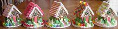 Gingerbread Houses, village