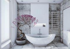 bonsai tree with violet accents bonsai tree interior