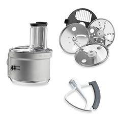 KitchenAid® Artisan® 5-Quart Stand Mixer Accessories Collection - BedBathandBeyond.com