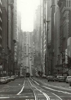 California Street, San Francisco. 1964