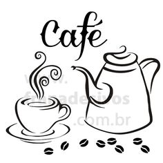 it of the best thing in the world. Coffee Signs, Coffee Art, My Coffee, Coffee Shop, Wood Burning Crafts, Wood Burning Patterns, Transférer Des Photos, Stencils, Diy And Crafts