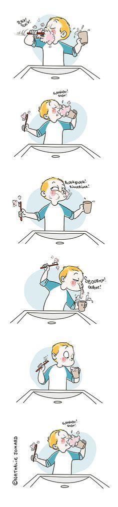 Petit précis de Grumeautique - Blog illustré: L'hygiène c'est importOnt !