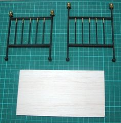how to: miniature bedframe