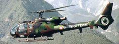 Un SA 342M Gazelle de la Aviación Ligera del Ejército de Tierra Francés.