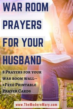 War Room Prayers to Pray Over Your Marriage War Room prayers to post in your war room. These prayers will cover and protect your marriage from any attack against it.