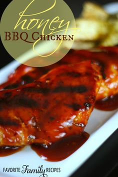 This honey BBQ Chicken is sure to be a hit at your next summer barbecue!