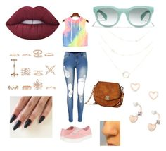 Peace & Love by scarlet-decollibus on Polyvore featuring polyvore, fashion, style, Vans, Gabriella Rocha, New Look, Lipsy, J.Crew, Lime Crime and clothing