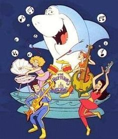 Jabberjaw...my favorite cartoon as a child. I even had the footie pajamas!