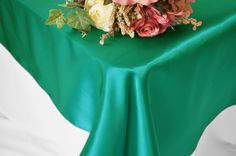 54x108 Satin Rectangle Table Overlays (56 colors)