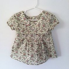 Oliver + S Family Reunion :: Liberty blouse in family reunion